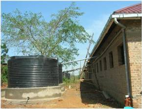Rainwater Harvesting System at HIA
